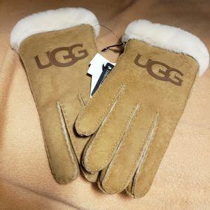 UGG Suede Gloves Brand New